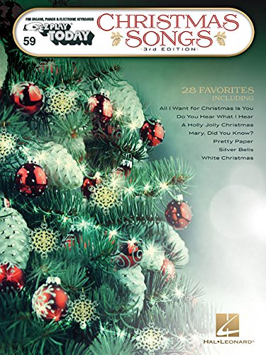 Christmas Songs: E-Z Play Today Volume 59 3rd Edition