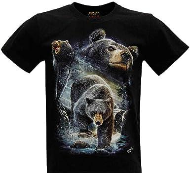 ROCK Camiseta Unisex Chang de algodón para Hombre y Mujer Impreso ...
