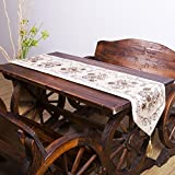 kaige table runners Golden Silk Jacquard Hotel home meeting room