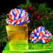 Red, White, and Blue Pull Bows - 6\