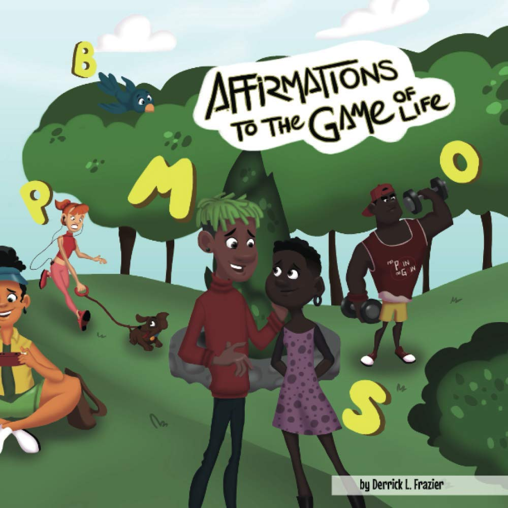 """Join us with author and motivational speaker, Derrick L. Frazier, has he does a reading of his latest book: Affirmations to the Game of Life."""""""