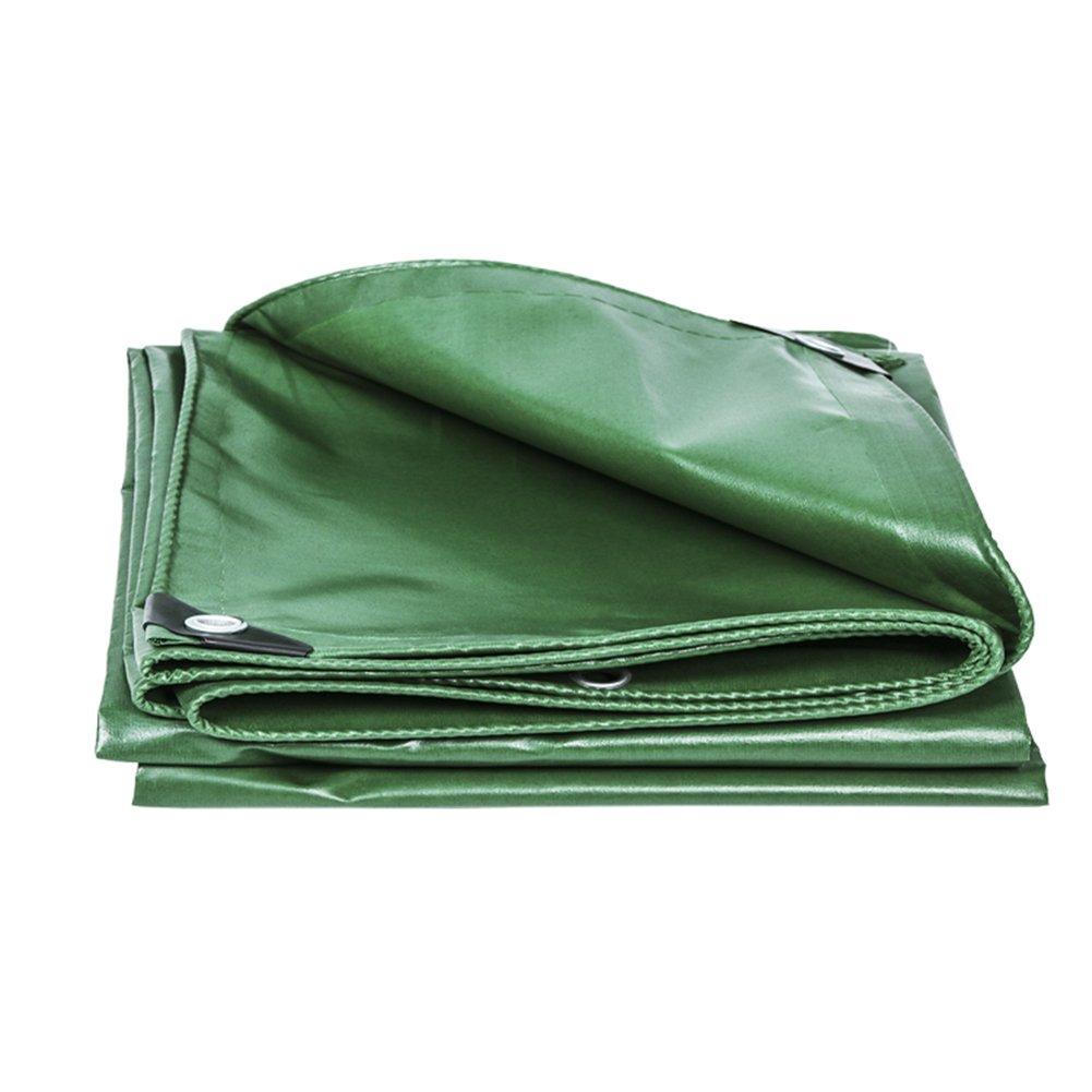 CHAOXIANG オーニング 厚い 折りたたみ可能 両面 防水 耐高温性 日焼け止め 耐寒性 耐摩耗性 耐食性 防塵の PVC 緑、 420g/m 2、 厚さ 0.33mm、 20サイズ (色 : 緑, サイズ さいず : 2x1.5m) B07DB6WMDP 2x1.5m|緑 緑 2x1.5m