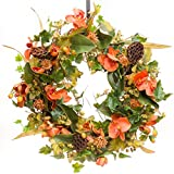 Autumn Orchid & Berry - Fall Wreath (FW963) (26 inch)