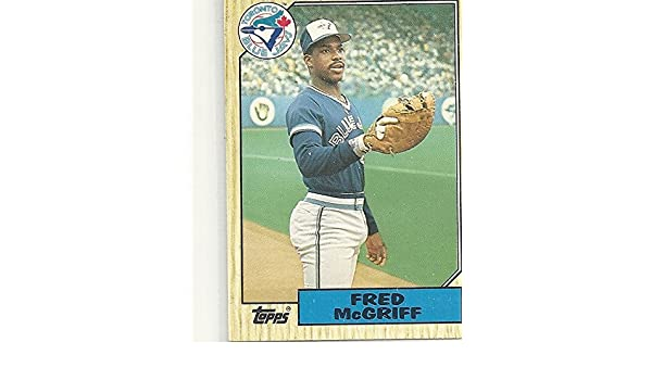 Fred Mcgriff Collectible Rookie Card 1987 Topps Traded Baseball