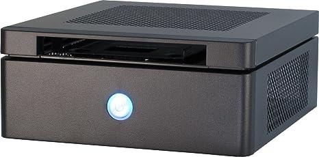 Inter-Tech ITX-603 Carcasa de Ordenador Escritorio Negro 60 W - Caja de Ordenador (Escritorio, PC, Mini-ATX, Negro, Hogar/Oficina, CE, RoHS): Amazon.es: Informática