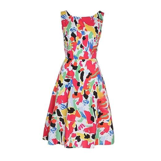 NUEVO. Mujer Vintage vestido Yes Mile Hepburn Rockabilly Swing ...