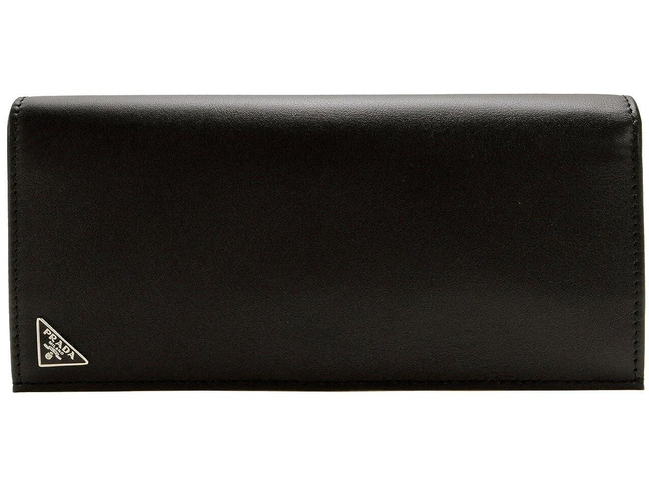 (プラダ) PRADA 財布 長財布 二つ折り メンズ ブラック レザー 2mv836vit-nero ブランド [並行輸入品] B01LYID5TR