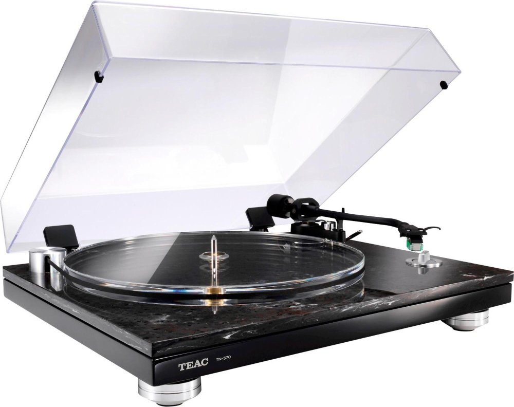 Teac Turntable in Black Marble with USB