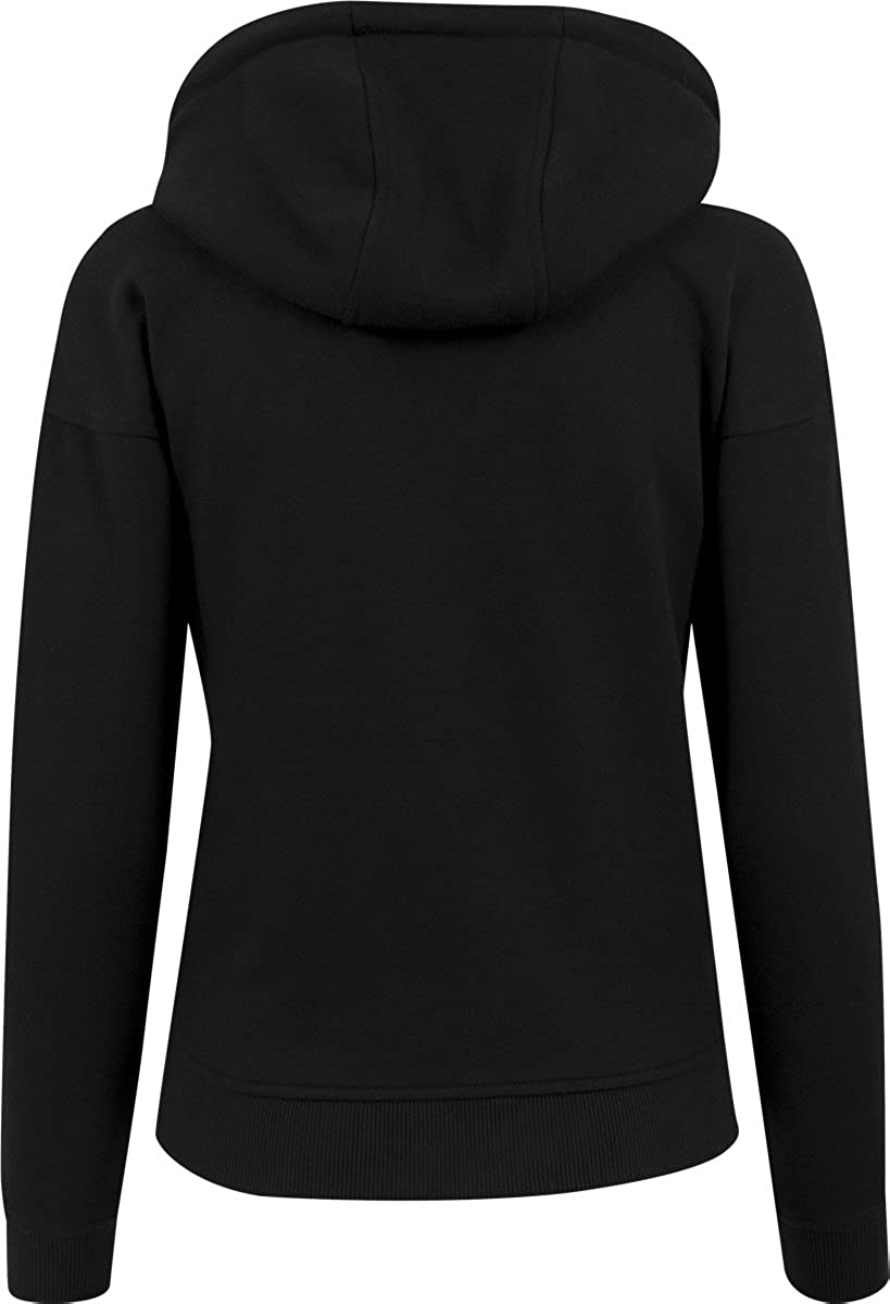 Urban Classics Damen Ladies Hoody Kapuzenpullover Black