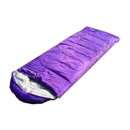 BHXUD Sobre con Sombrero Primavera, Verano Y Otoño Tres Estaciones Outdoor Sleeping Sleeping Bag para