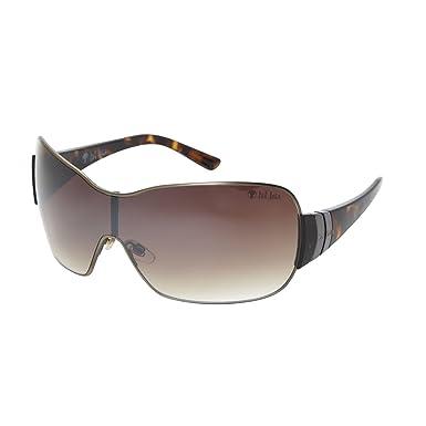 c7fbd14b6f Fat Face Geranium Women s Sunglasses Brushed Antique Brown  Amazon ...