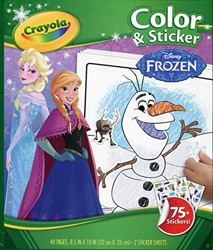 Crayola Frozen Color & Sticker Books