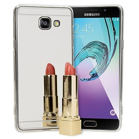 NALIA Funda Espejo Compatible con Samsung Galaxy A5 2016 ...