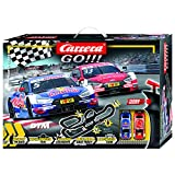 Carrera GO!!! 62480 DTM Master Class Electric Slot Car Racing Track Set 1:43 Scale