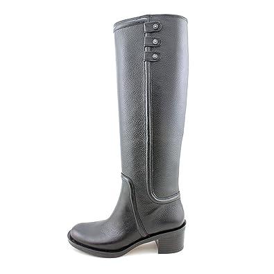 Amazon.com | Enzo Angiolini Women's Gregie Riding Boot | Knee-High