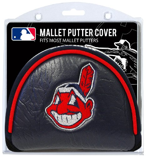 Team Golf MLB Cleveland Indians Golf Club Mallet Putter for sale  Delivered anywhere in USA