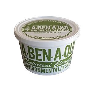 A-Ben-A-Qui 20oz - All Purpose Environmentally Safe Cleaning Paste