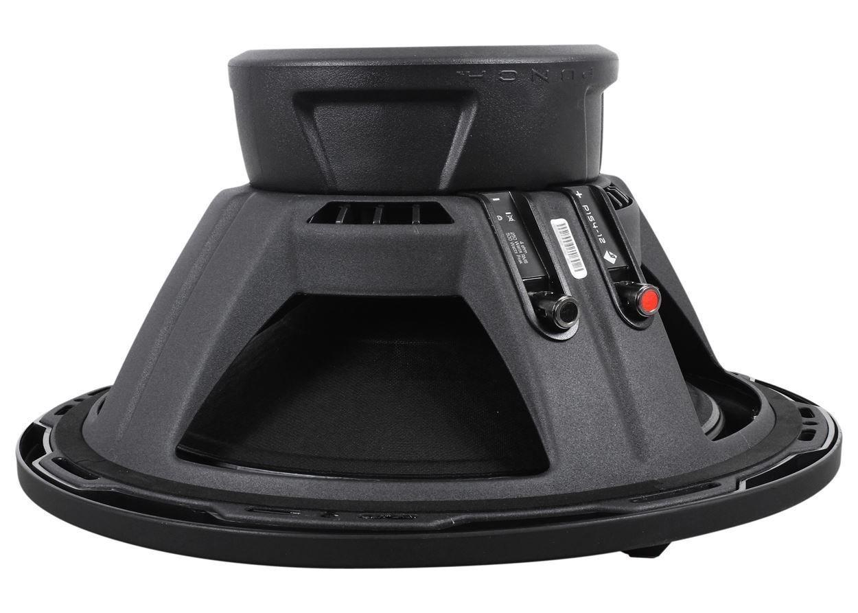2 Rockford Fosgate P1s4 12 P1 500w Car Subwoofers Rms Amplifier Amp Kit Electronics
