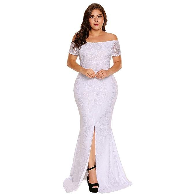 Vestidos Tallas Grandes Plus Ropa De Moda Para Mujer Sexys Casuales Largos  De Fiesta y Noche 61f09ab6d235