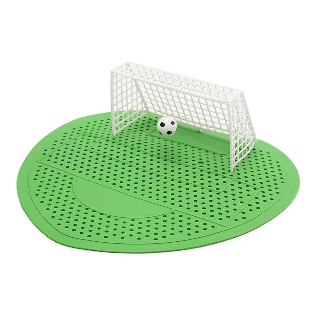 3 Pc Urinal Mat Football Soccer Shoot Goal Style For Hotel Home Club Deodorization Screen Filter Pink Rose Dream