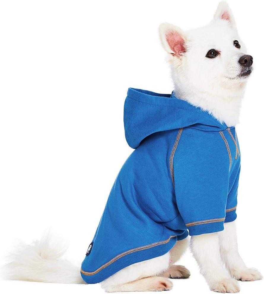Blueberry Pet Essentials 2020 New 4 Colors Soft & Comfy Better Basic Cotton Blend Dog Sweatshirts
