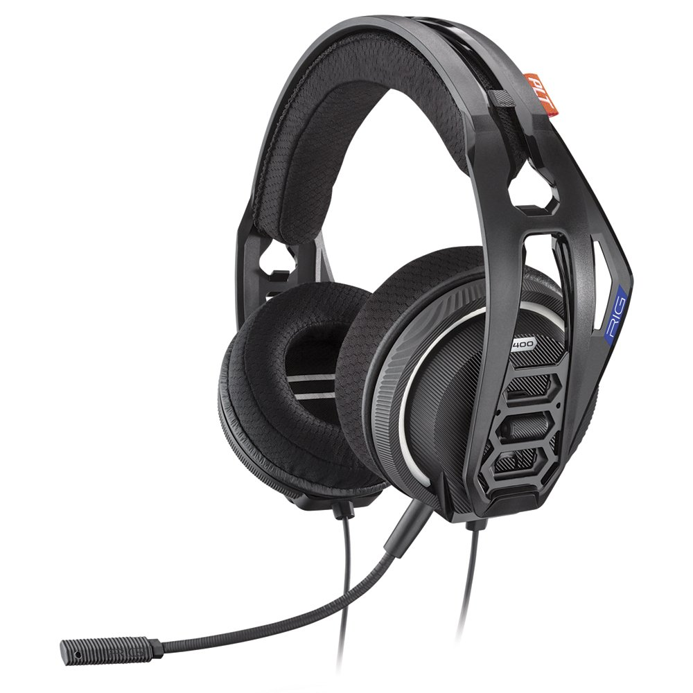 Auriculares Gamer : Plantronics Rig 400hs Ps4