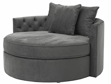 Casa-Padrino sofá de diseño Gris Oscuro 157 x 148 x H. 90 cm ...