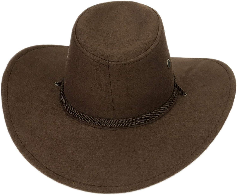 Cool Western Cowboy Hats Men Sun Visor Cap Women Travel Performance Western Hats Cowboy 9 Colors