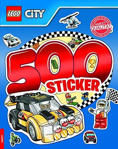LEGO CITY 500 Sticker Band 2: Rätsel-Stickerbuch