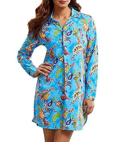 Lauren Ralph Lauren Knit Sleep Shirt, S, - Ralph Lauren Outlet Online