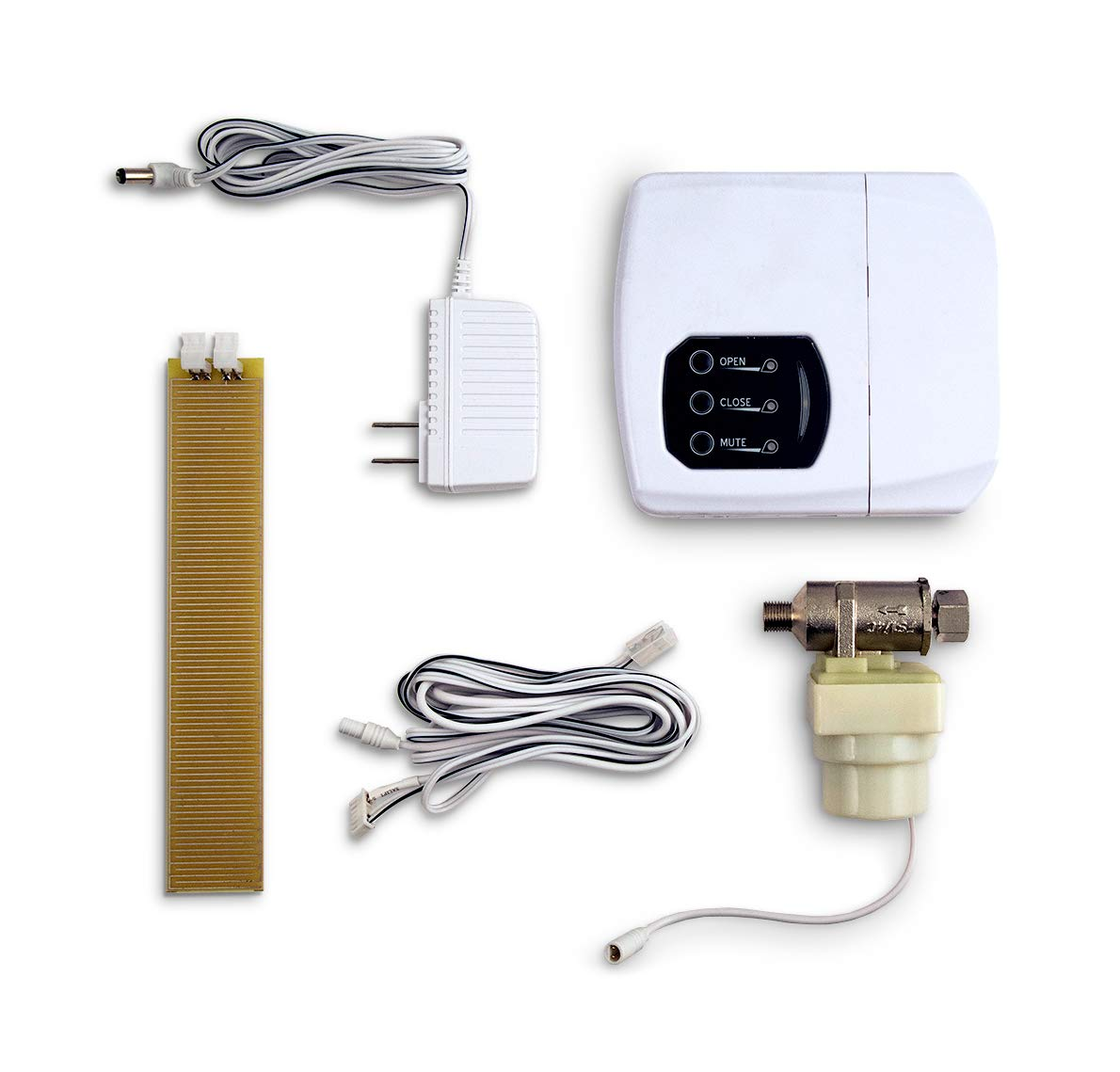 LeakSmart Automatic Leak Detection and Water Shut Off Kits- Protect Your Home from High Leak Risk Appliances (Ice Maker)