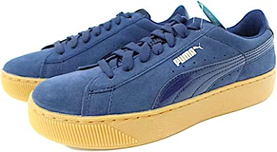 puma vikky platform donna blu