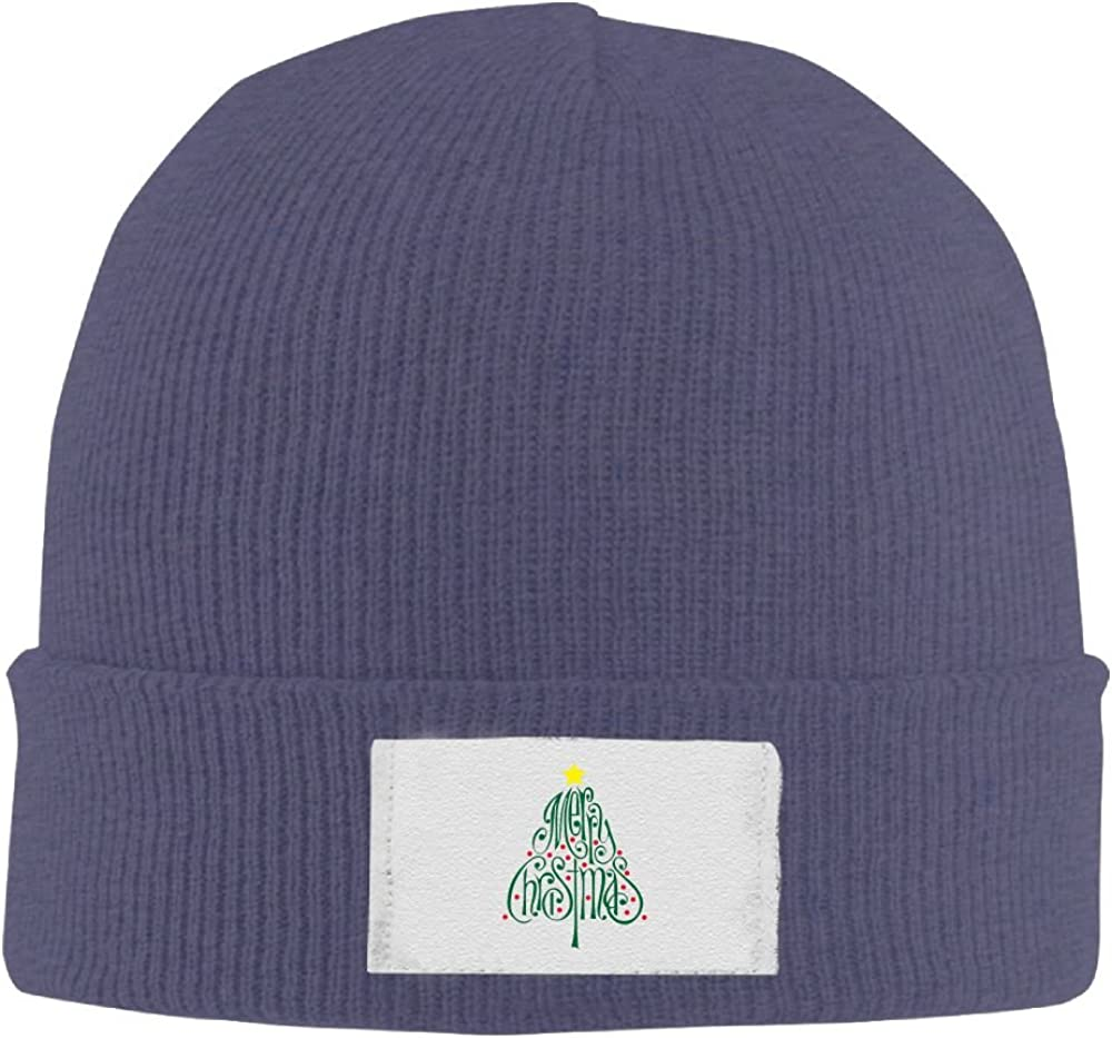 PWLLS Unisex Beautiful Christmas Tree Wool Toboggan Hat Cool Beanie Smart Cap Fashion For Outdoor /& Home