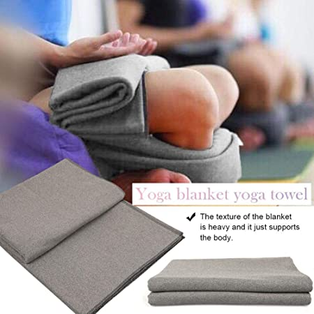 LeKing Meditación Manta Toalla Manta de Yoga para Yoga Playa ...