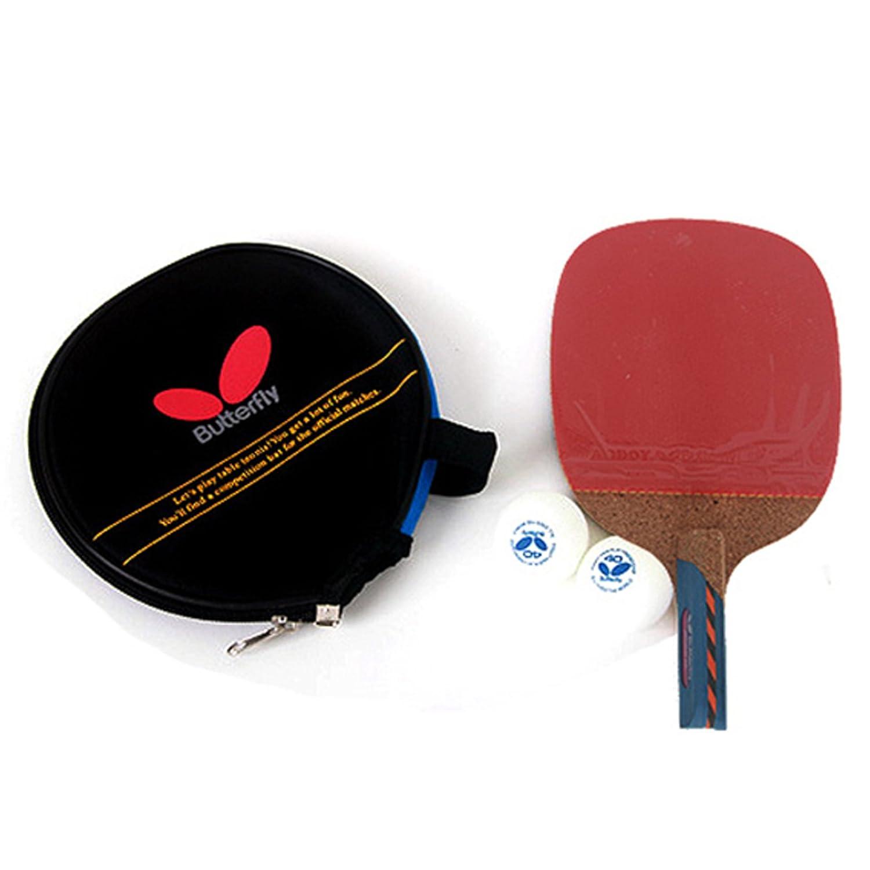 Amazon.com : Butterfly NAKAMA LD Penholder Table Tennis Racket Ping ...