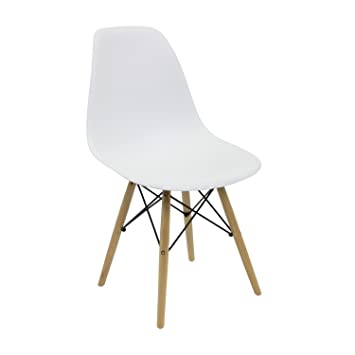 Vaukura Eames Chair   DSW Tower Chair (available In Various Colours). White