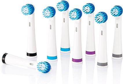 nevadent® 8 dientes nbürsten cabezales nazk 8 B1