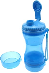 Alfie Pet - Canyon 2-in-1 Travel Water Bottle and Food Bowl Set for Pet