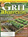Grit Magazine March/April 2012 6 Savory Supper Pies, 10 Easy Crops Anyone Can Grow