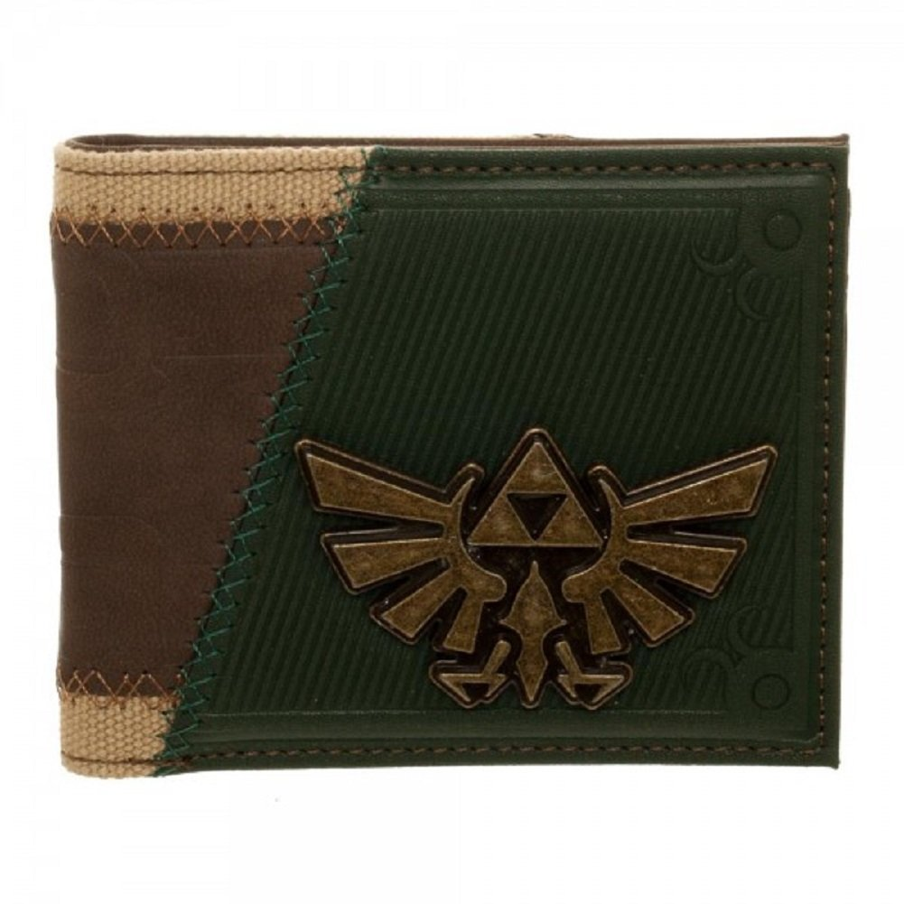 Zelda Twilight Princess Wingcrest Suit Up Bi-Fold Wallet MW4IKGZEL