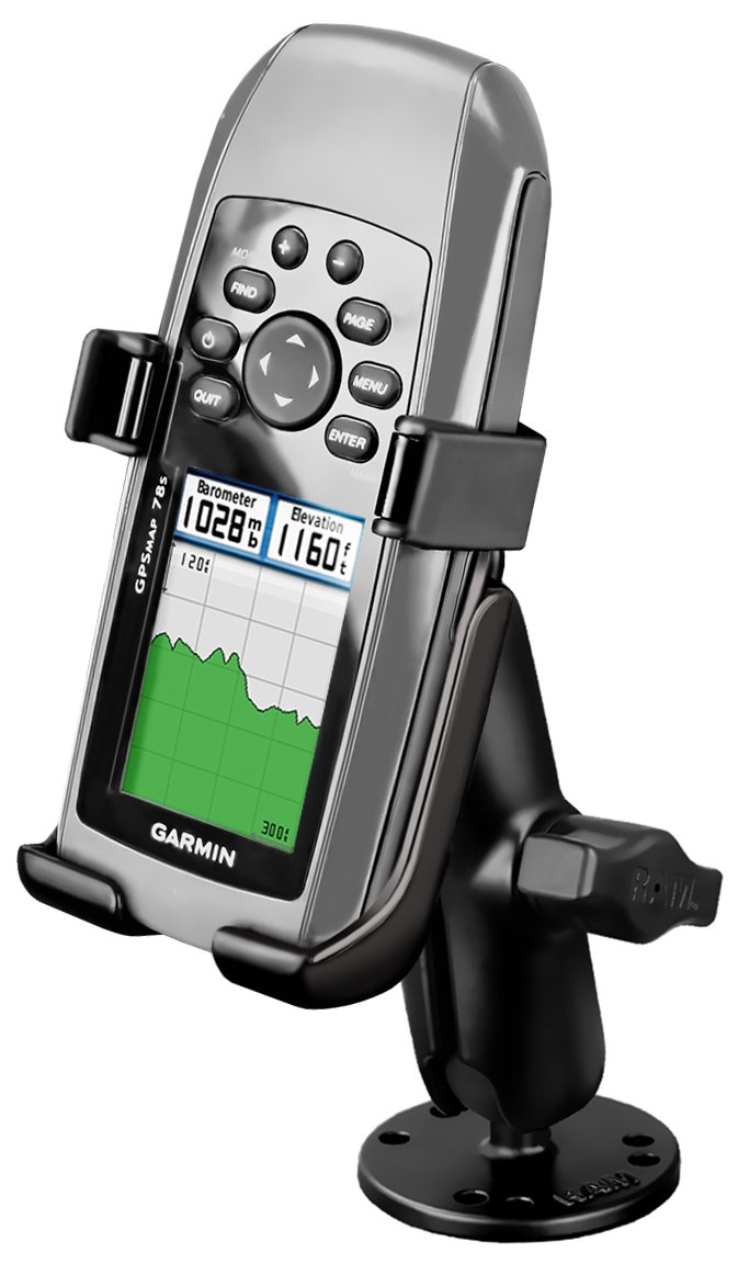 Ram Mount Flat Surface Mount for the Garmin GPSMAP 78, 78s and 78sc by RAM MOUNTS