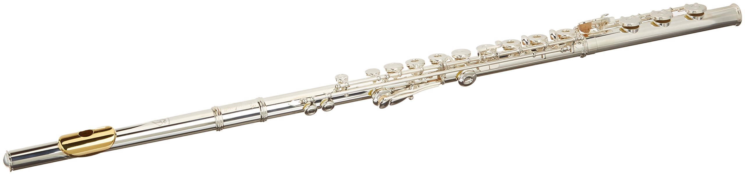 Gemeinhardt 3SHB Flute with Inline G, B Foot and Gold Lip Plate