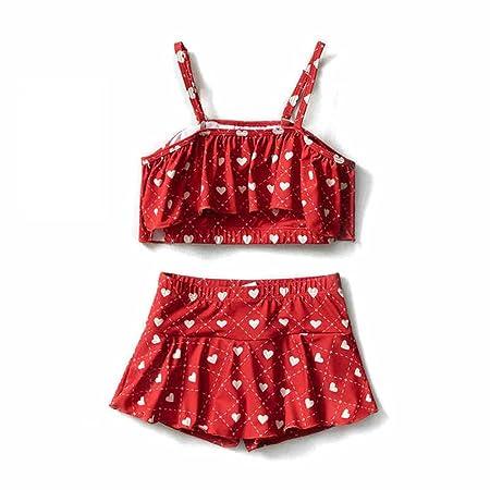 Chlyuan-sp Bikinis de niña pequeña de Dos Piezas Niños Traje ...
