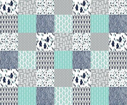 quilting squares baby boy - 4