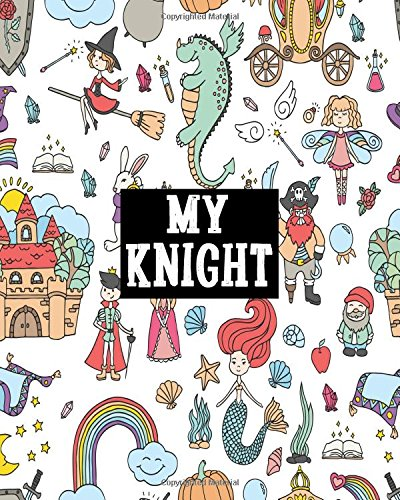 My Knight: Blank Sticker Book For Kids. Stickers book Collecting Album (Volume 7)