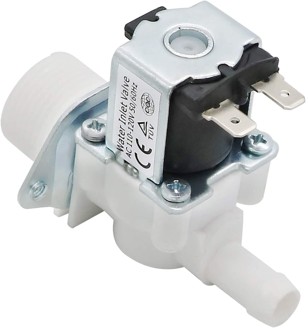 Primeswift 5220FR2006H Water Inlet Valve(Hot) Replacement for Kenmore LG Washing Machine,Replaces 5220FR2006L 5220FR2006Q AP4441935