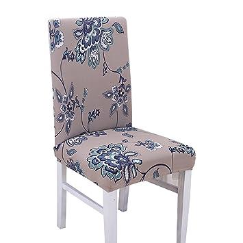 amazon com dining room chair slipcovers for home wedding restaurant rh amazon com Kitchen Chair Covers Amazon Dining Room Chair Seat Covers