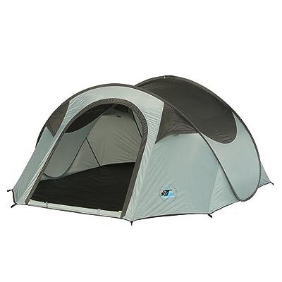 10T Outdoor Equipment 10T équipement d'extérieur Unisexe Colac Tente pop up, Bleu, 2personnes
