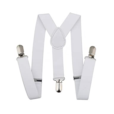 Bretelle Elastico-Bianco