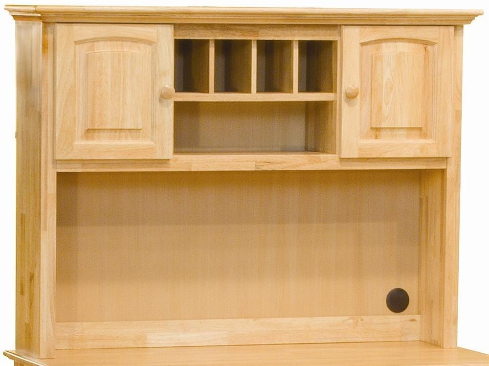 Amazon Com Atlantic Furniture Windsor Hutch Natural Maple